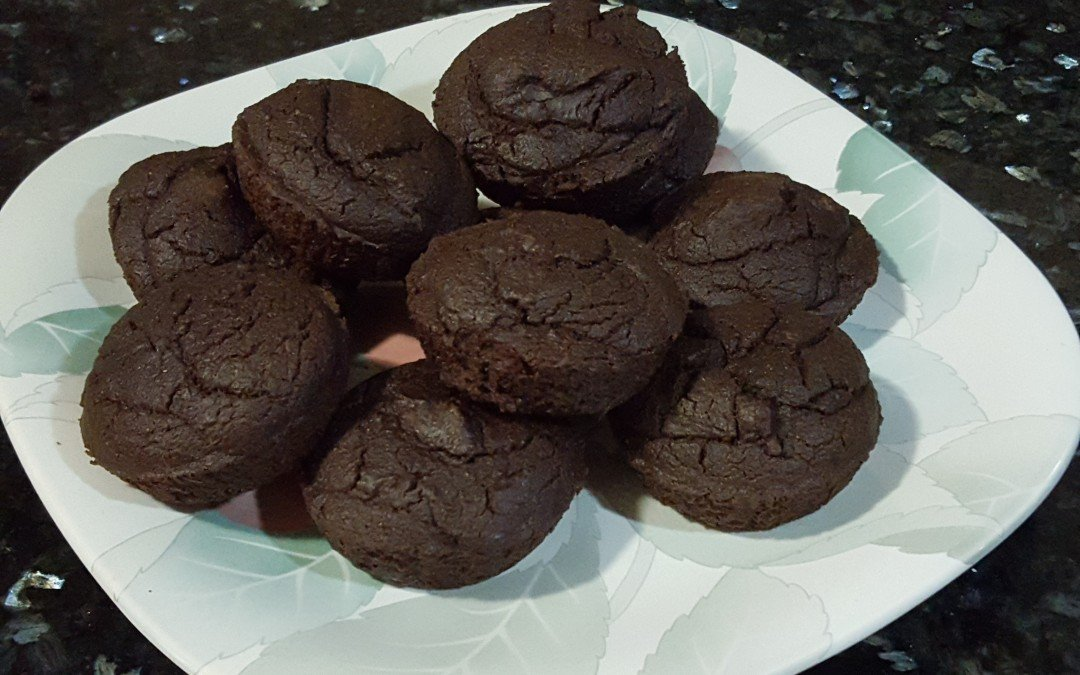 No Muffin Tops here… High Protein Muffins!