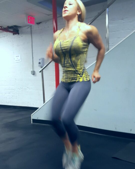 Increase your Heart Rate with High Knees!