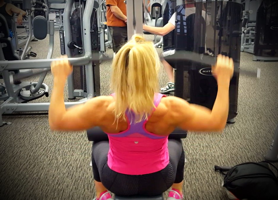 Avoid Back Pain … Strengthen your back with Lat Pull-Downs