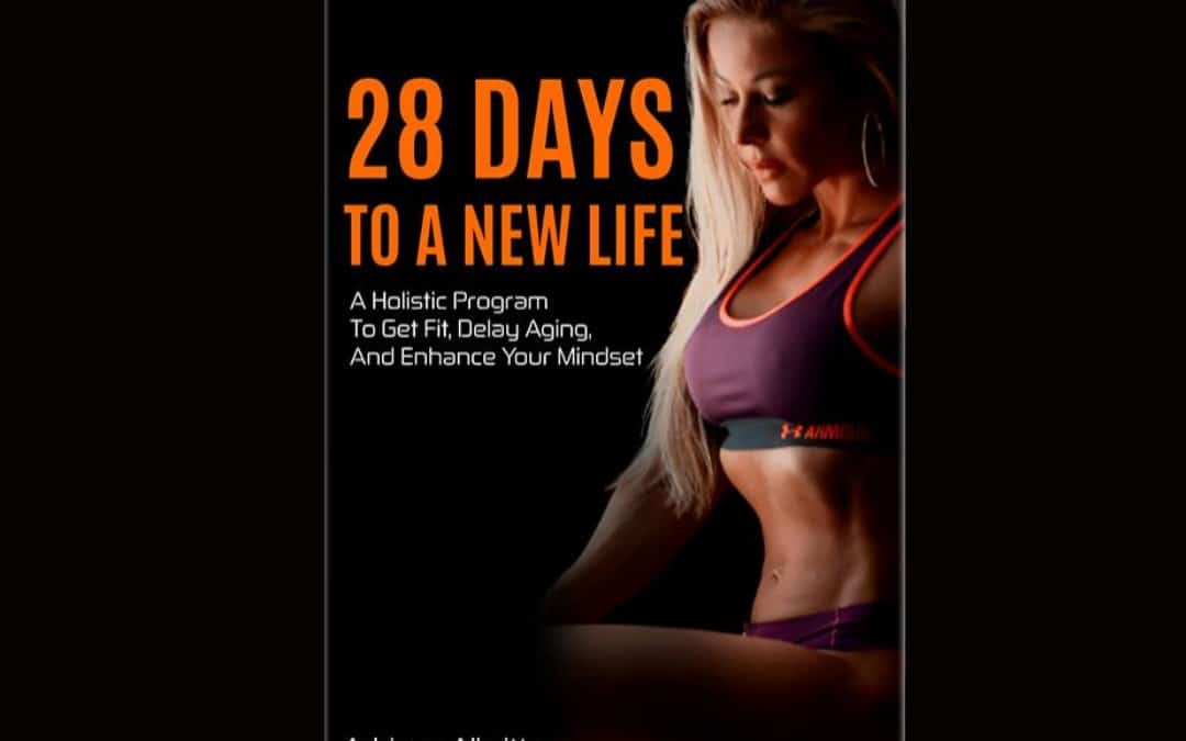 "Adriana's book ""28 days to a new life"""