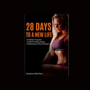 """Adriana's book """"28 days to a new life"""""""