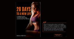 "Adriana's Albritton book ""28 days to a new life"""