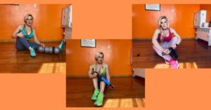 Adriana's Albritton home workout