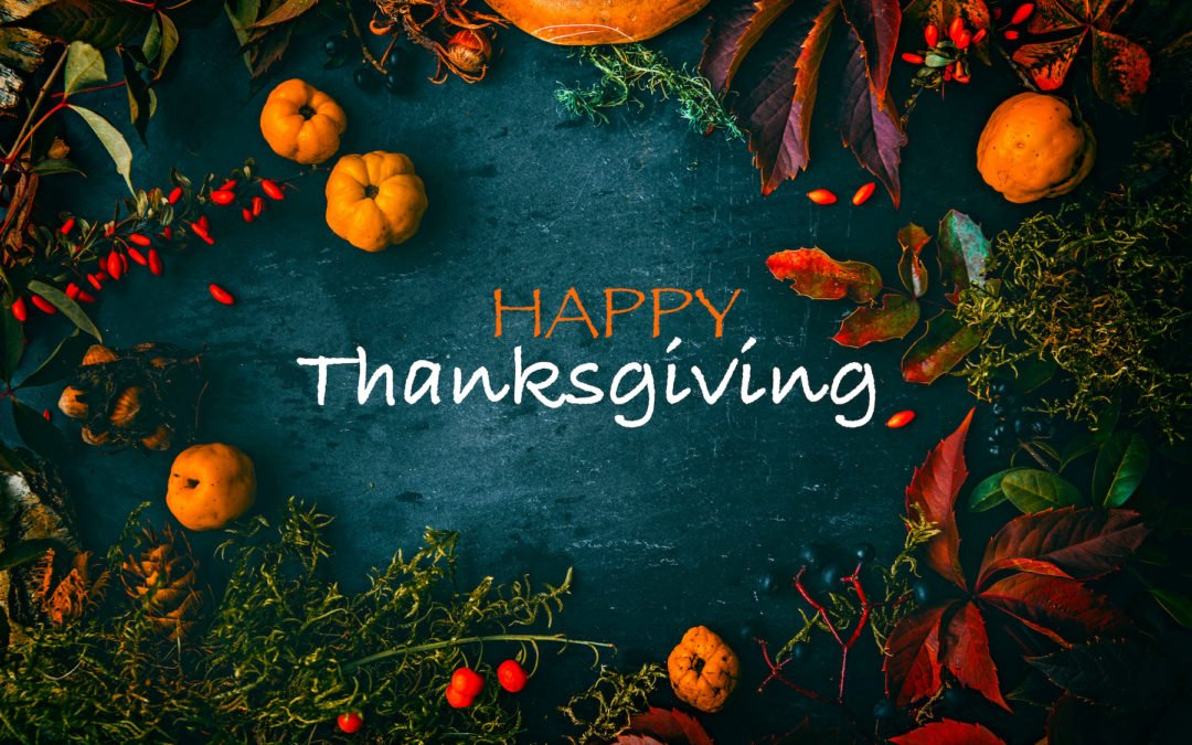 Tips for a Healthier Happier Thanksgiving!